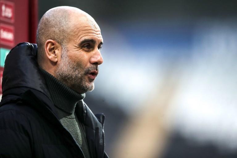 Pep Guardiola et Man City affrontent le PSG en 1/2 finale de C1.