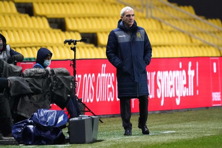 Raymond Domenech, coach du FC Nantes.