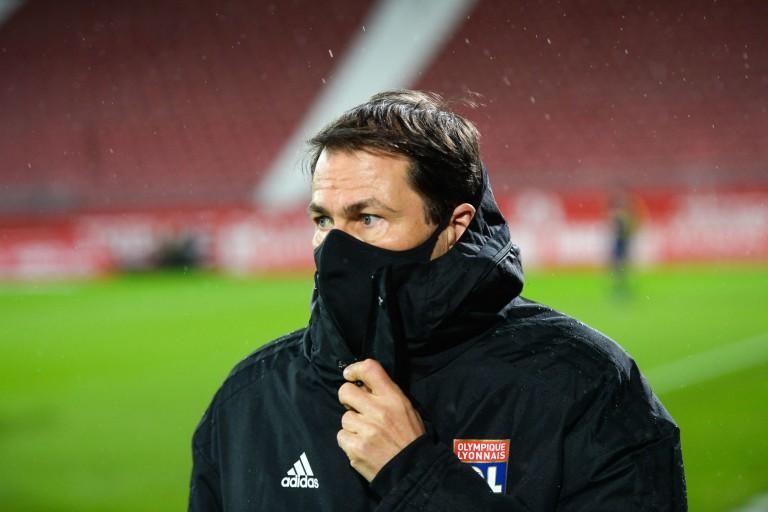 Rudi Garcia, coach de l'OL en fin de contrat