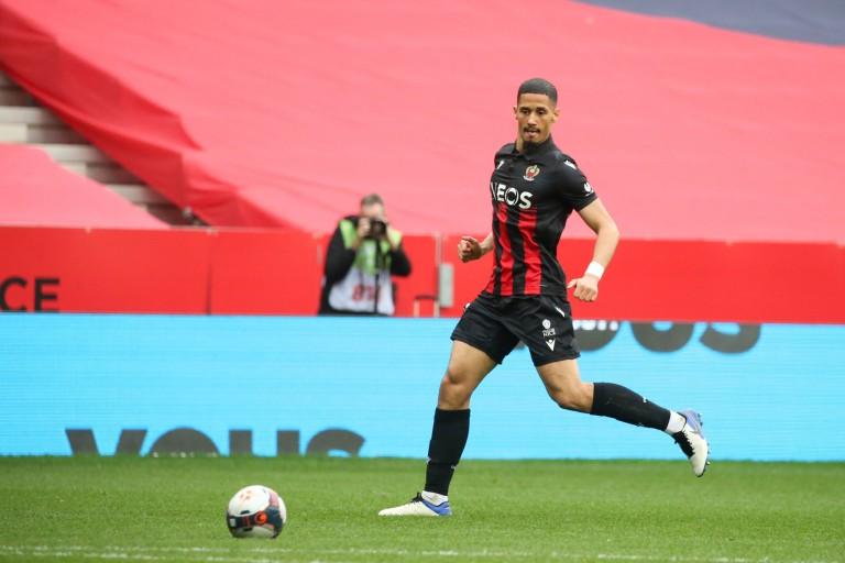 William Saliba, défenseur d'Arsenal, formé à l'ASSE et prêté à l'OGC Nice.