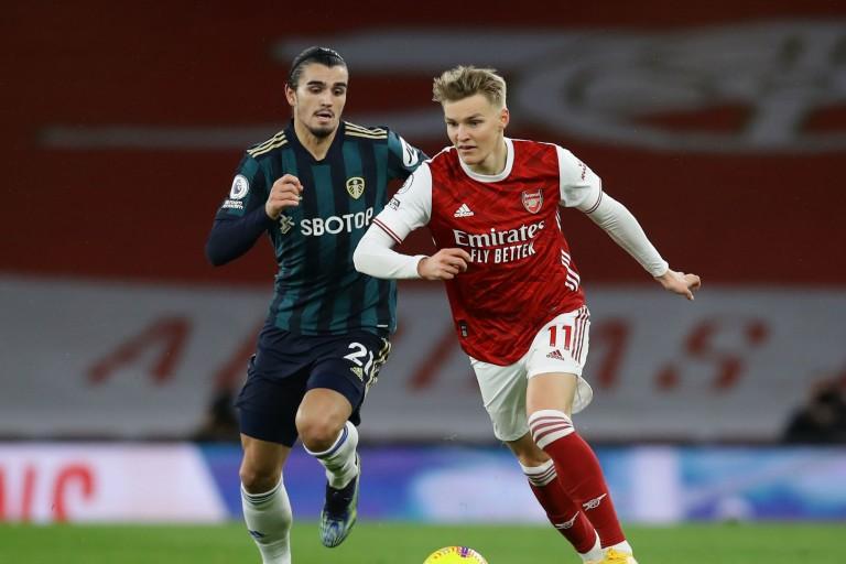 Martin Odegaard a été titularisé pour la première fois avec Arsenal hier face à Leeds.