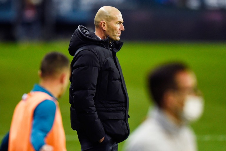 Zinedine Zidane a mis le doute sur son avenir au Real Madrid.