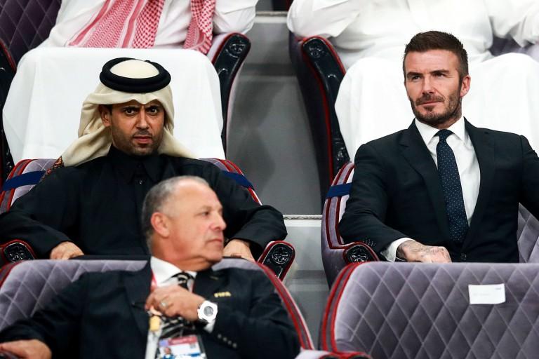 David Beckham intéressé par Lionel Messi