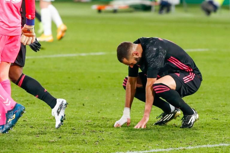 Karim Benzema attaquant du Real formé à l'OL