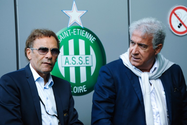 Roland Romeyer et Bernard Caïazzo, les deux présidents de l'ASSE.