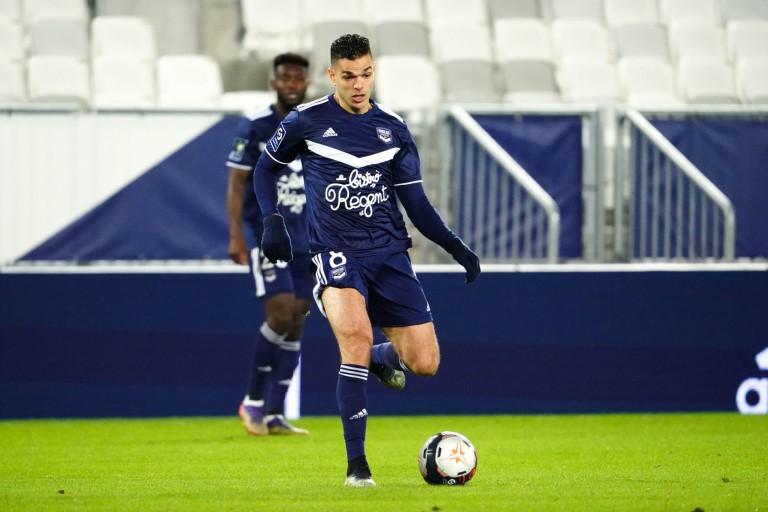 Hatem Ben Arfa, meneur de jeu des Girondins de Bordeaux.