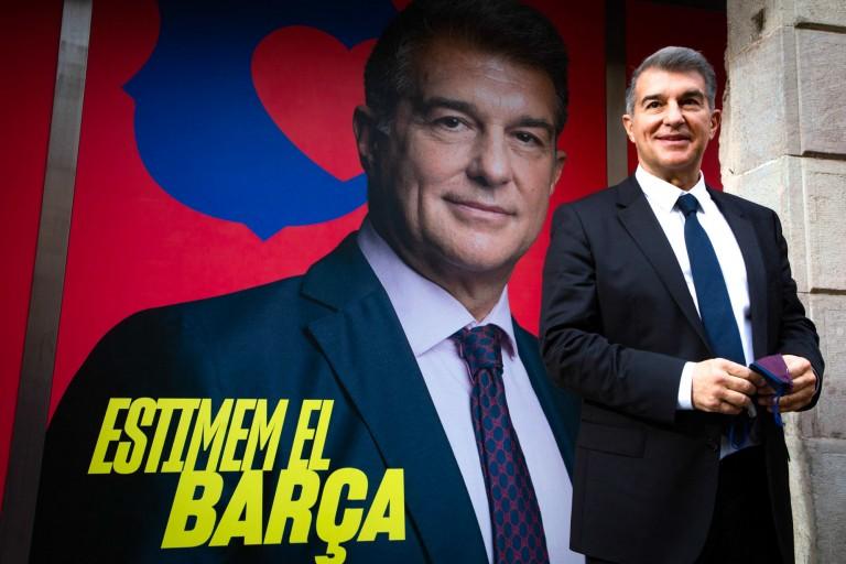Joan Laporta élu président du Barça