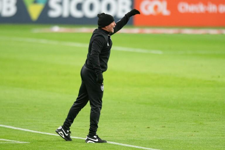 Jorge Sampaoli, nouvel entraîneur de l'OM.