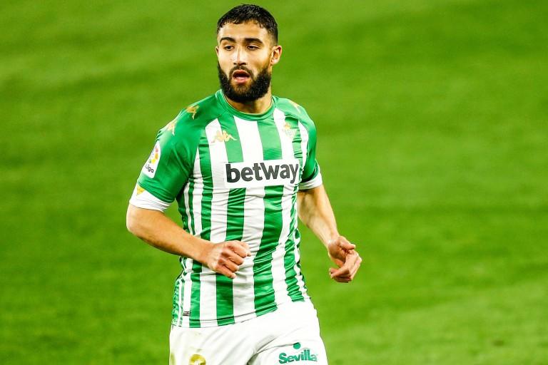 Nabil Fekir, ex-capitaine de l'OL et acteul joueur du Betis Séville.