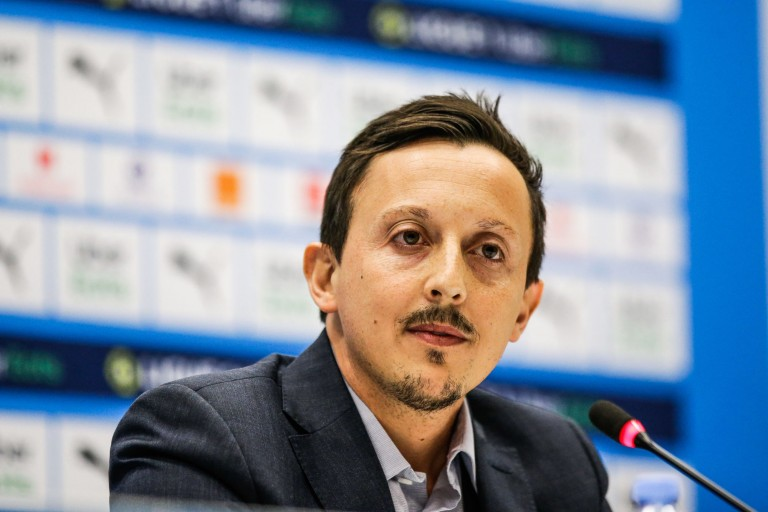 Pablo Longoria, nouveau président de l' OM.