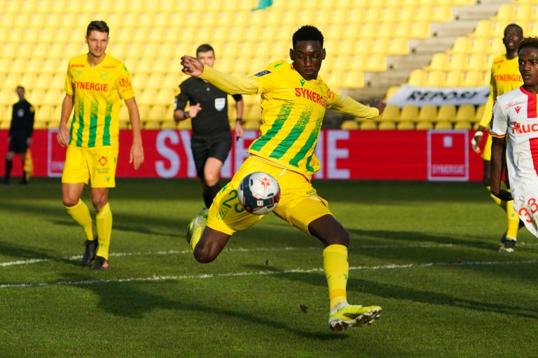 Randal Kolo Muani, attaquant du FC Nantes.