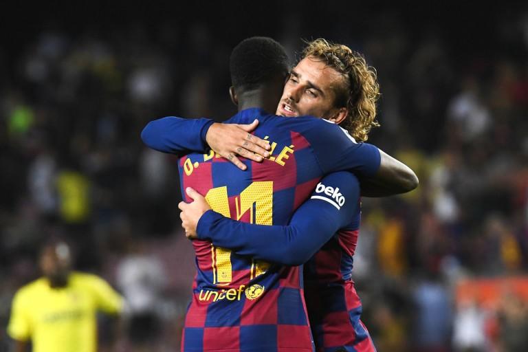 Revenus en forme avec le FC Barcelone, Antoine Griezmann et Ousmane Dembélé ont été critiqués par Raymond Domenech.