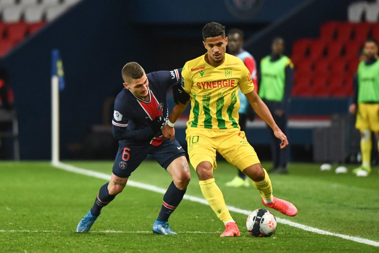 Un joueur du FC Nantes est le sixième meilleur dribbleur d'Europe.