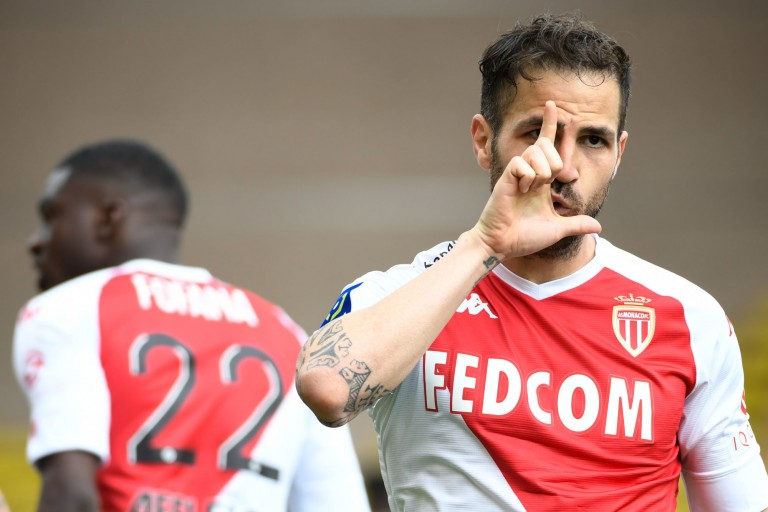 Cesc Fabregas ira jusqu'au bout avec Monaco
