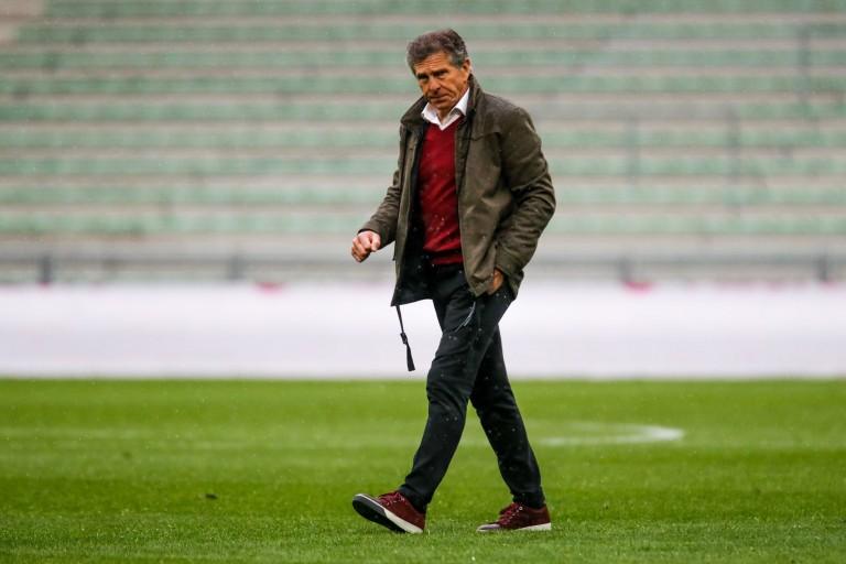 Claude Puel, coach et manager général de l'ASSE.