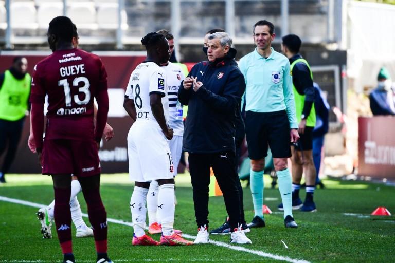 Le Stade Rennais avec Jérémy Doku