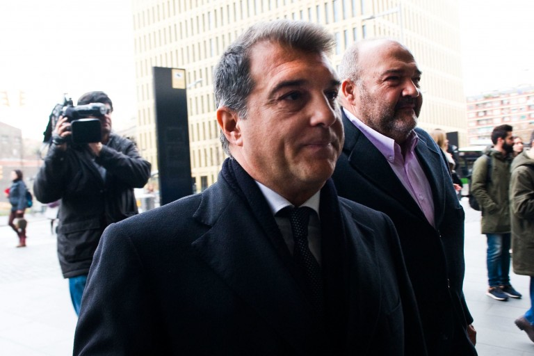 Le président du Barça veut prolonger Dembélé