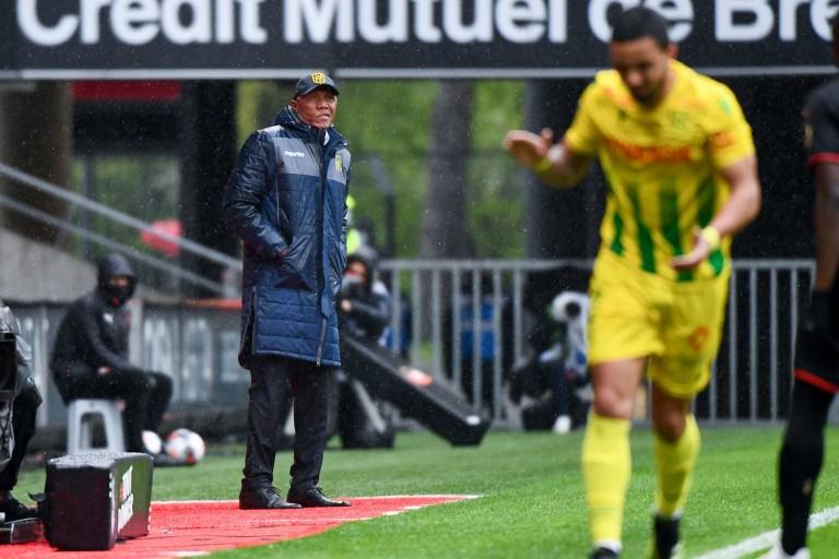 Le FC Nantes perdant du derby contre Rennes