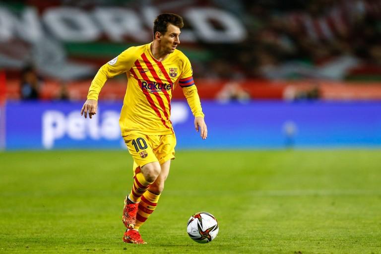 Lionel Messi en fin de contrat au Barça