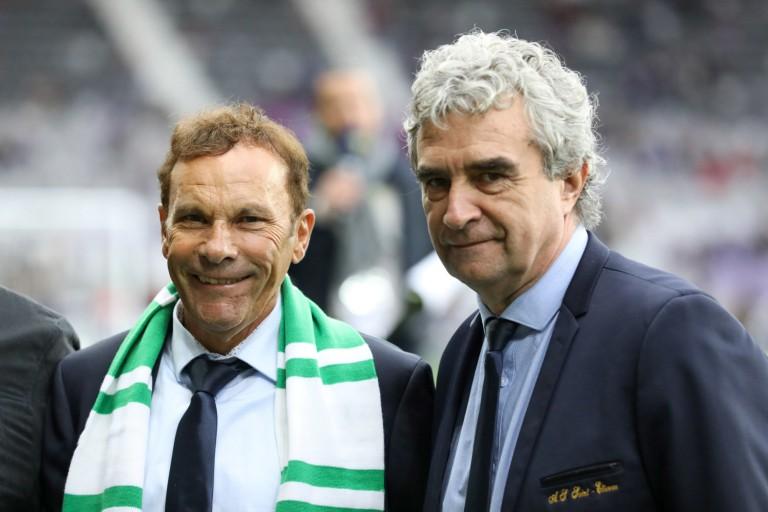 vente de l'ASSE : Roland Romeyer et Bernard Caïazzo, les deux présidents de l'ASSE.