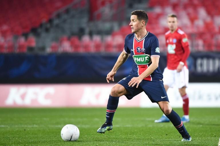 Ander Herrera, milieu de terrain du PSG.