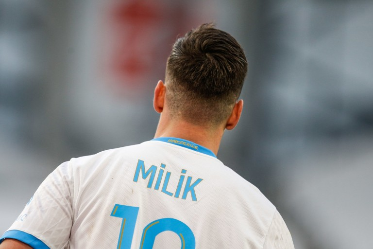 Arkadiusz Milik, attaquant de l' OM.