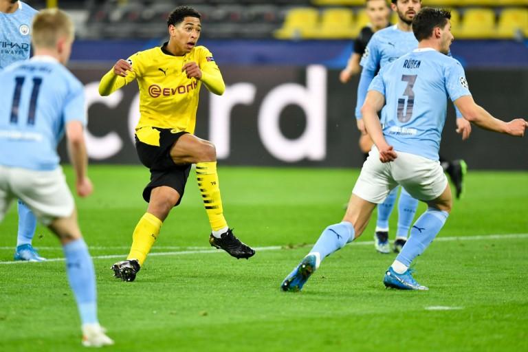 Jude Bellingham a inscrit un but fantastique pour le Borussia Dortmund.