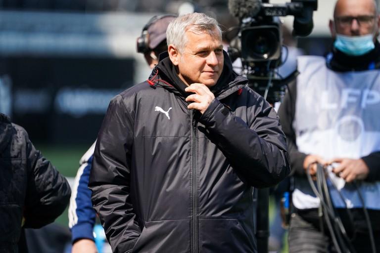 Bruno Genesio, entraîneur du Stade Rennais