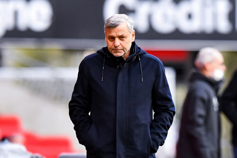 L'entraîneur du Stade Rennais Bruno Genesio devra se passer de Jérémy Doku.