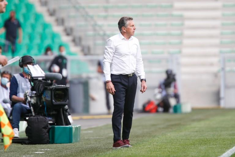 Claude Puel, manager et coach de l' ASSE.