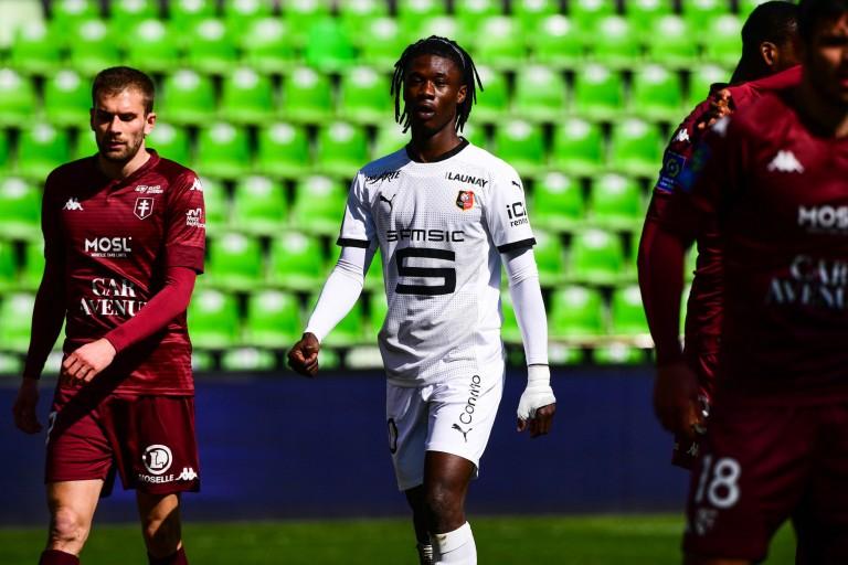 Eduardo Camavinga décidé à quitter le Stade Rennais cet été.