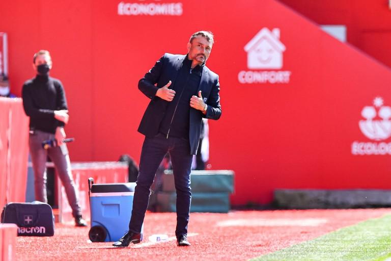 Franck Haise, entraîneur du RC Lens
