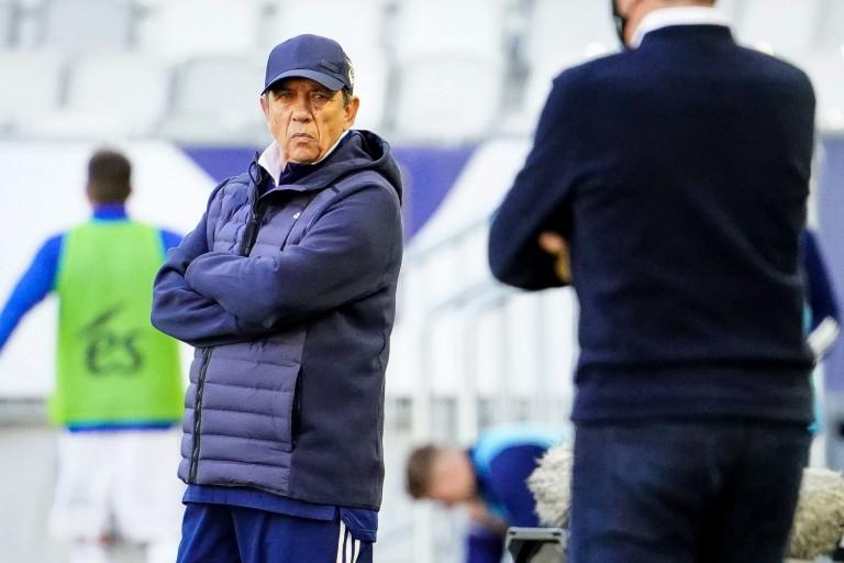 Jean-Louis Gasset, entraîneur des Girondins de Bordeaux.