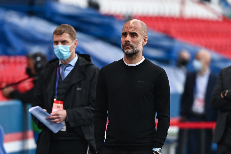 Guardiola est heureux de la performance de Manchester City face au PSG.