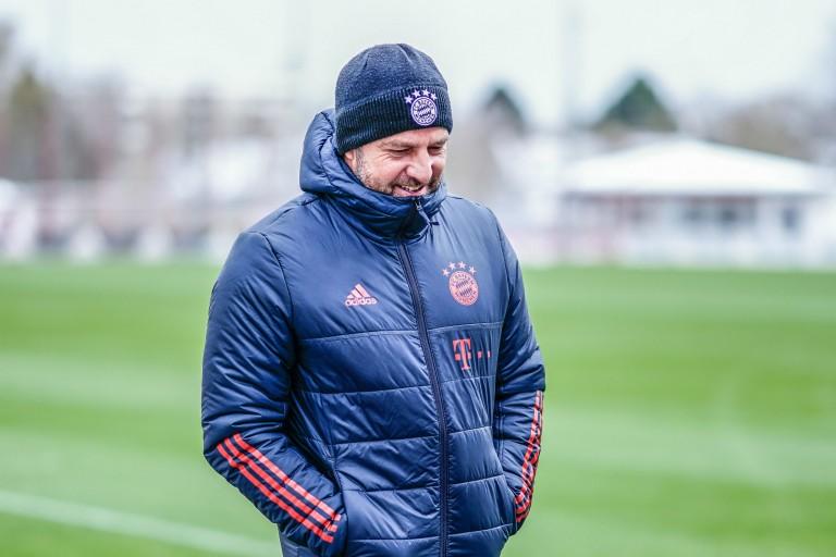 Hans-Dieter Flick, entraîneur du Bayern Munich.