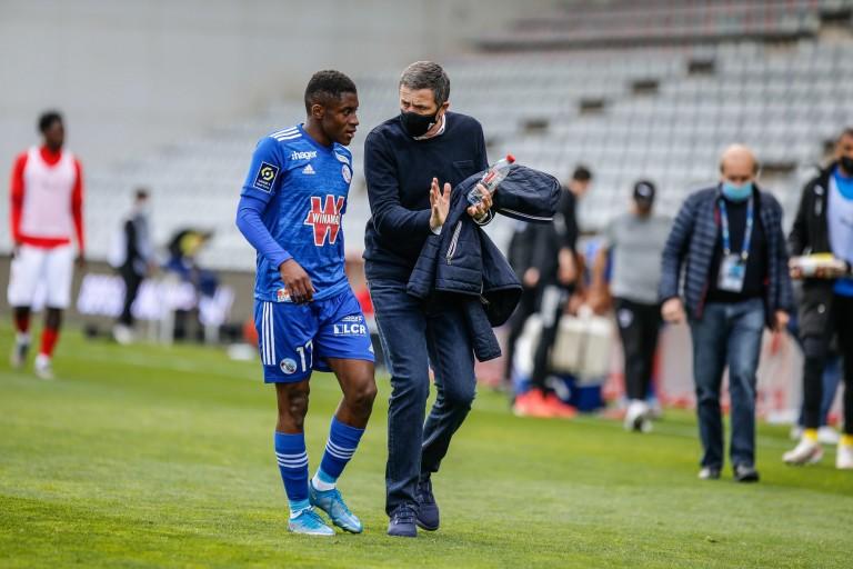 Thierry Laurey confiant avant le match OM - RC Strasbourg.