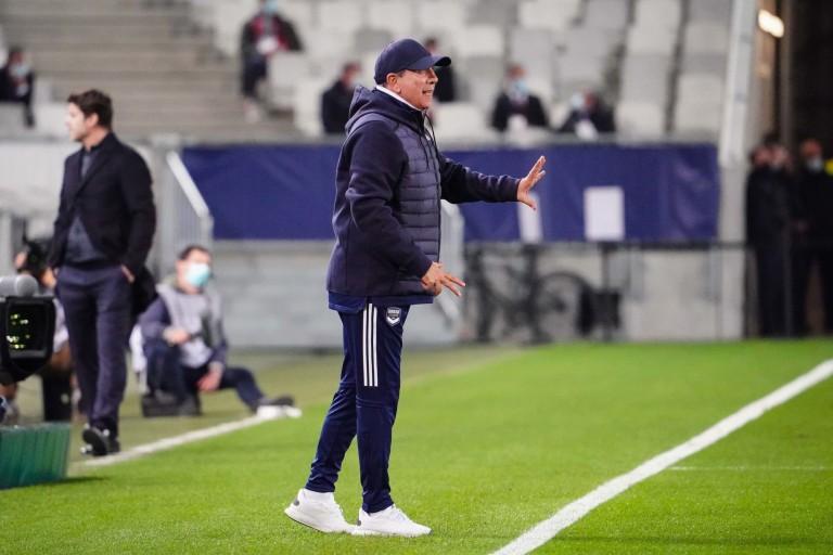 Jean-Louis Gasset, ex-coach de l'ASSE et actuel entraîneur de Bordeaux.