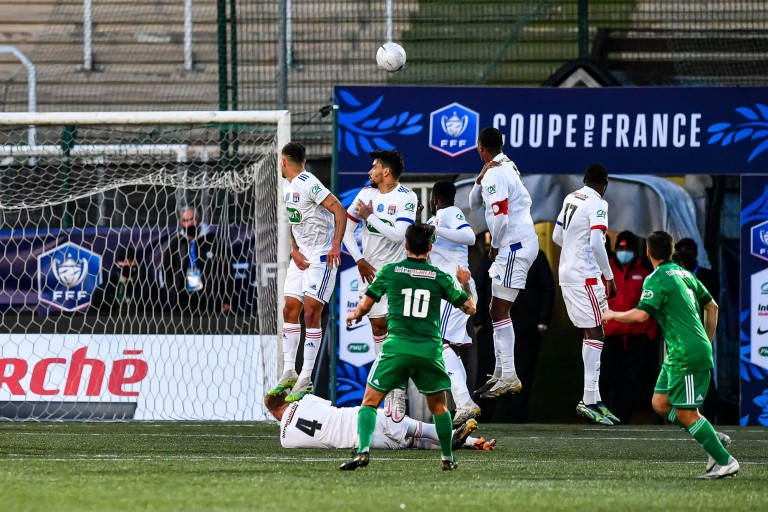L' OL face au Red Star, en coupe de France.