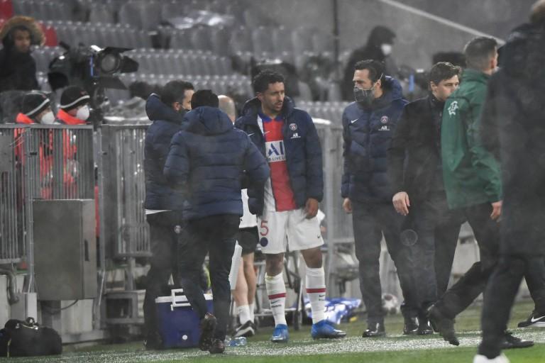 Marquinhos va manquer le quart de finale retour de LDC entre le PSG et le Bayern Munich.