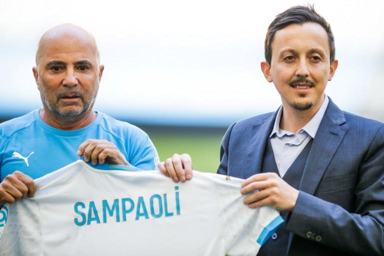 Jorge Sampaoli et Pablo Longoria de l' OM sont en désaccord.