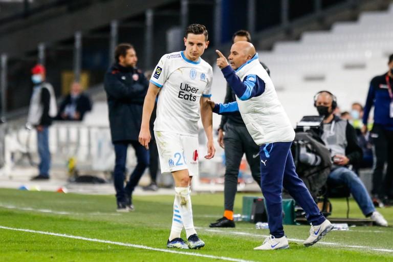 Jorge Sampaoli confirme le départ de Florian Thauvin.
