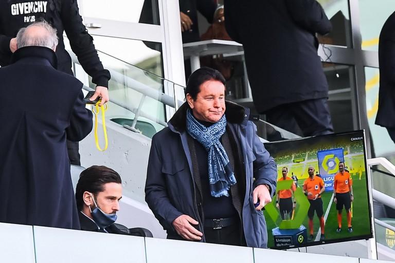 Waldemar Kita, propriétaire du FC Nantes.