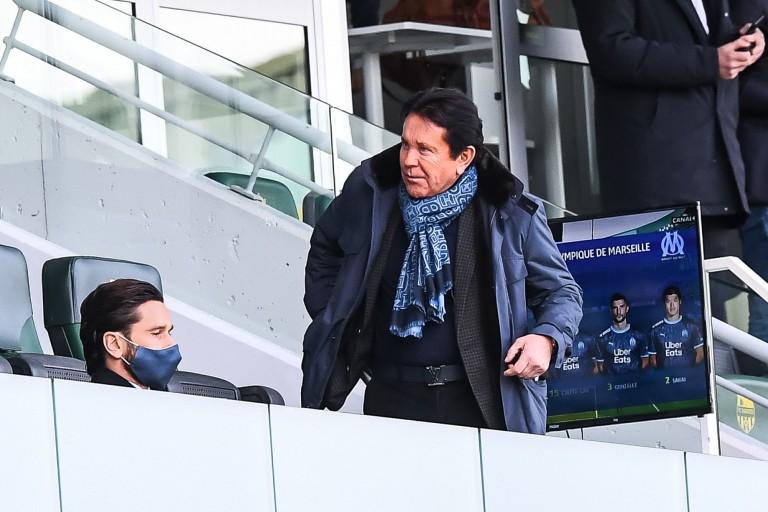 Waldemar Kita, président du FC Nantes, et son fils Franck Kita.