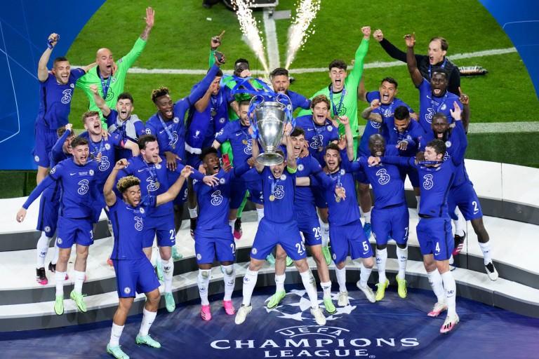 Chelsea vainqueur de la Champions League