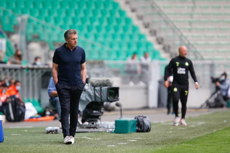 Claude Puel, entraîneur de l' ASSE.