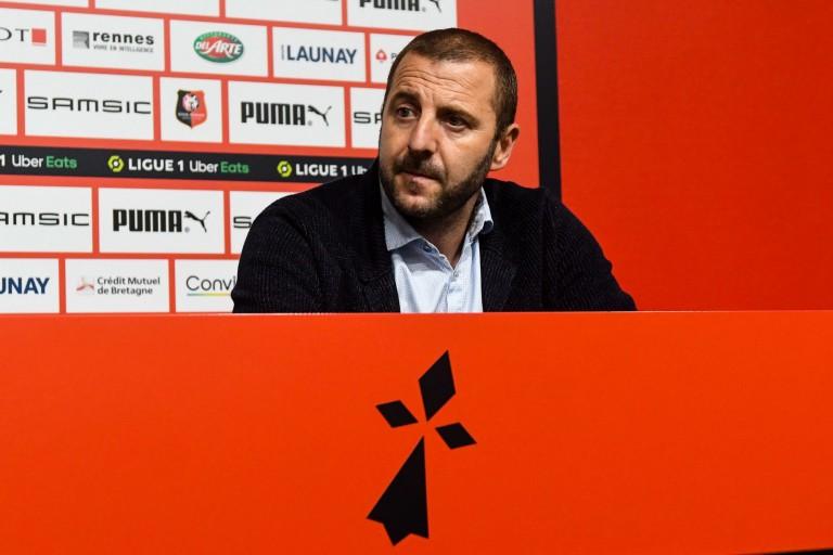 Florian Maurice, DS du Stade Rennais