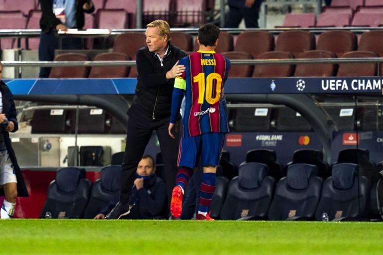 Koeman veut garder Lionel Messi