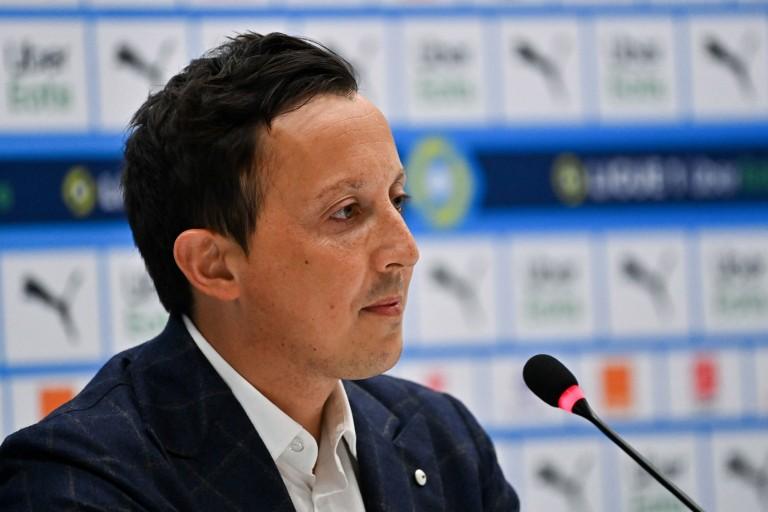 Pablo Longoria, le président de l'OM
