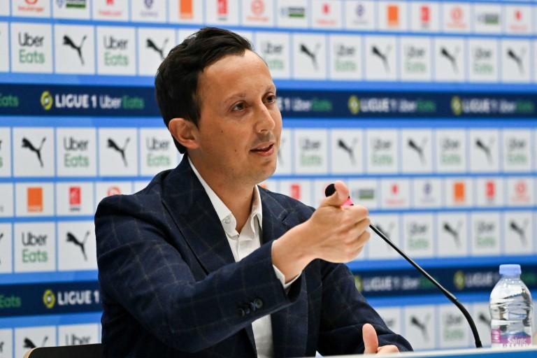 Pablo Longoria, président de l' OM.