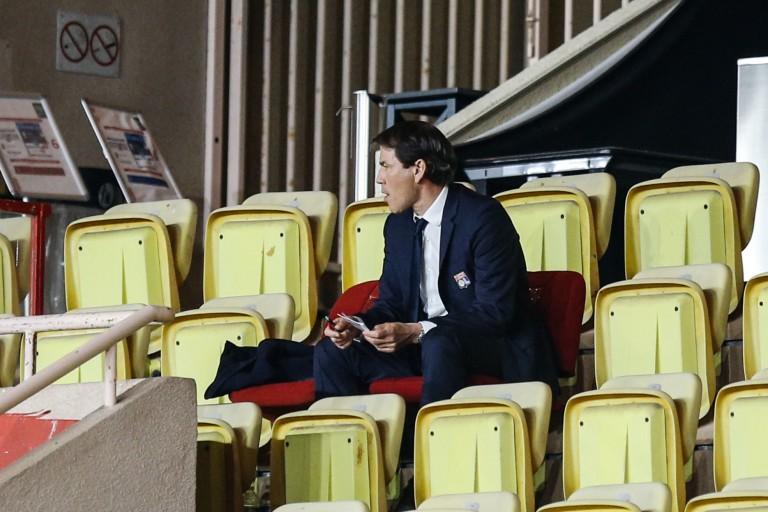 Rudi Garcia félicité par le président de l'OL